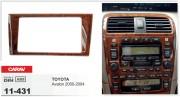 Переходная рамка Carav 11-431 Toyota Avalon 2000-2004, 2-DIN
