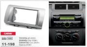 Переходная рамка Carav 11-198 Toyota bB 2005+ / Subaru Dex 2008+ / Daihatsu Coo 2005+, Materia 2006+, 2-DIN