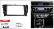 Переходная рамка Carav 11-461 Toyota Corolla 2013+ (Left wheel), 2-DIN