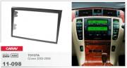 Переходная рамка Carav 11-098 Toyota Crown 2003-2006, 2-DIN