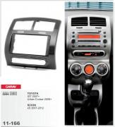 Переходная рамка Carav 11-166 Toyota IST 2007+, Urban Cruiser 2008+ / Scion xD 2007-2012, 2-DIN