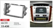 Переходная рамка Carav 11-430 Toyota Innova 2011+, 2-DIN