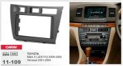 Переходная рамка Carav 11-109 Toyota Mark II (JZX110) 2000-2004, Verossa 2001-2004, 2-DIN