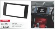 Переходная рамка Carav 11-160 Toyota Mark X 2004-2009, Reiz 2005-2010, 2-DIN