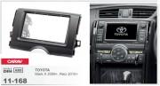 Переходная рамка Carav 11-168 Toyota Mark X 2009+, Reiz 2010+, 2-DIN
