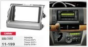 Переходная рамка Carav 11-199 Toyota Previa, Tarago 2007+, Estima 2006+, 2-DIN