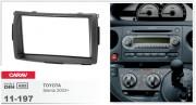 Переходная рамка Carav 11-197 Toyota Sienta 2003+, 2-DIN