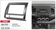Переходная рамка Carav 11-114 Toyota Tacoma 2005+, 2-DIN