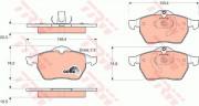 Тормозные колодки TRW GDB1271