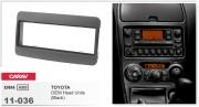 Переходная рамка Carav 11-036 Toyota Universal (Black), 1-DIN