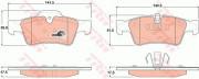 Гальмівні колодки TRW GDB1643