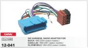 Переходник / адаптер ISO Carav 12-041 для Buick 1995-2004 / Cadilak 1992-2001 / Oldsmobile 1994-2002