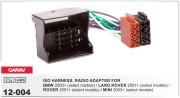 Переходник / адаптер ISO Carav 12-004 для BMW 2001+ / Land Rover Defender 2 2001+, Range Rover 2002-2006 / Rover 2001+