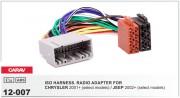 Переходник / адаптер ISO Carav 12-007 для Chrysler 2001+ / Jeep 2002+
