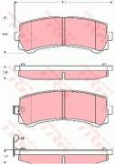 Тормозные колодки TRW GDB3362