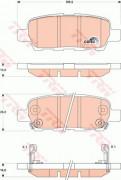 Тормозные колодки TRW GDB3507