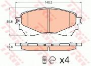 Тормозные колодки TRW GDB3580