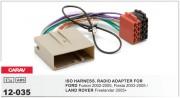 Переходник / адаптер ISO Carav 12-035 для Ford Fusion 2002-2005, Fiesta 2003-2005 / Land Rover Freelander 2005+