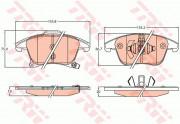 Гальмівні колодки TRW GDB2092