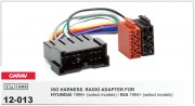 Переходник / адаптер ISO Carav 12-013 для Hyundai 1999-2005 / KIA 1999-2005