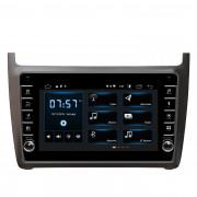 Штатная магнитола Incar XTA-1078R для Volkswagen Polo 2009+ (Android 10)