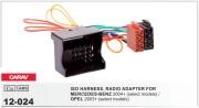 Переходник / адаптер ISO Carav 12-024 для Mercedes-Benz 2004+ / Opel 2003+