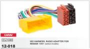 Переходник / адаптер ISO Carav 12-018 для Nissan Almera, Premiera, Micra, Terrano, Vanette, X-Trail