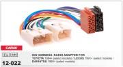 Переходник / адаптер ISO Carav 12-022 для Toyota / Lexus / Daihatsu