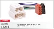 Переходник / адаптер ISO Carav 12-028 для Volvo 1990-2001 (select models)