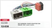 Переходник / адаптер ISO Carav 12-038 для Volvo 1998-2010 (select models)