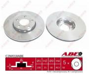 Гальмівний диск ABE C3W018ABE