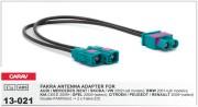 Антенный переходник Carav 13-021 для Audi / Mercedes / Seat / Skoda /Volkswagen / BMW / KIA / Opel / Citroen / Peugeot / Renault