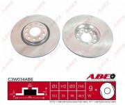 Тормозной диск ABE C3W034ABE