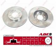 Тормозной диск ABE C3X007ABE