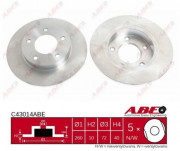 Гальмівний диск ABE C43014ABE