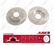 Гальмівний диск ABE C45020ABE