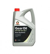 Напівсинтетична трансмісійна олива Comma SX75w90 GEAR OIL GL4