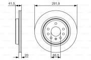 Тормозной диск BOSCH 0986479S27