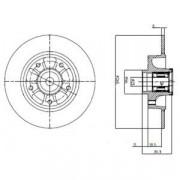 Тормозной диск DELPHI BG9112RSC