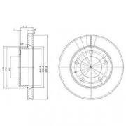 Гальмівний диск DELPHI BG2779