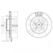 Гальмівний диск DELPHI BG3413