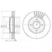 Тормозной диск DELPHI BG2699