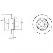 Гальмівний диск DELPHI BG2466