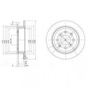 Тормозной диск DELPHI BG2538