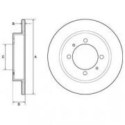 Тормозной диск DELPHI BG3203