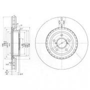 Тормозной диск DELPHI BG3818