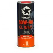 Минеральное трансмиссионное масло Verylube 80W-90 GL 3 / 4 / 5
