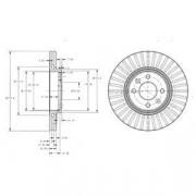 Тормозной диск DELPHI BG3430
