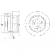 Тормозной диск DELPHI BG3241
