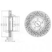Тормозной диск DELPHI BG3986